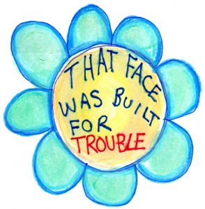face-trouble